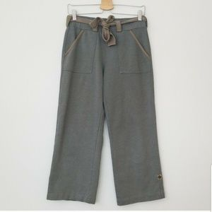 Anthropologie Pure + Good Gray & Brown Cari Pants